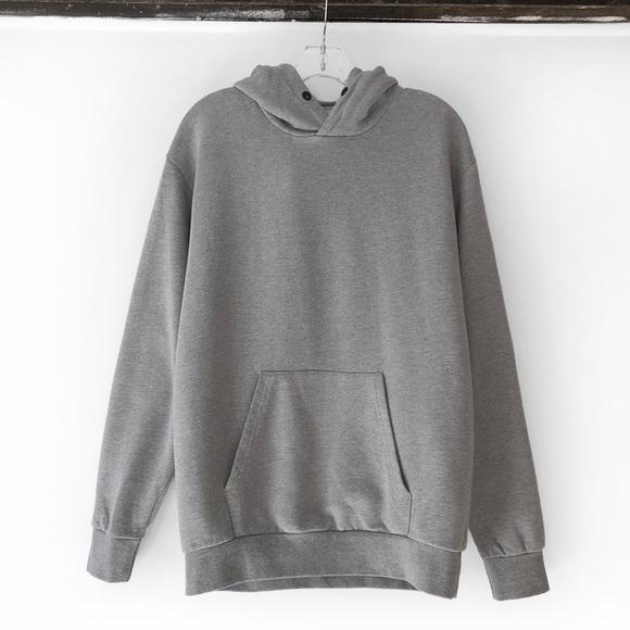 Zara grey hoodie size M